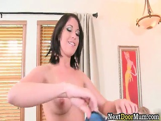 nasty bleached milf and awesome brunette sluts
