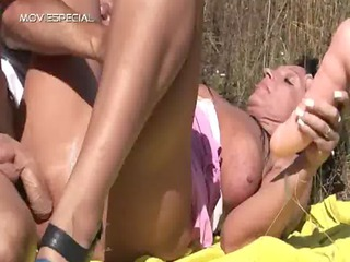 busty lady acquires banged uneasy  public