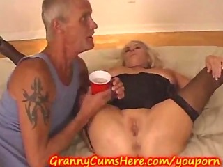 grannys swingers celebration and group fuck