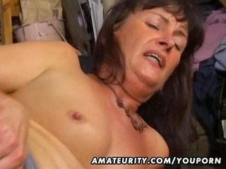 young woman anal and cock sucking with facial