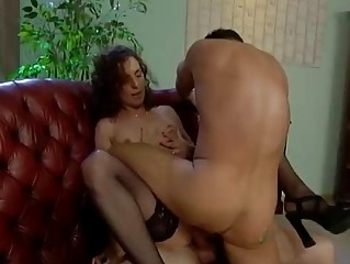cougar german whore does two men