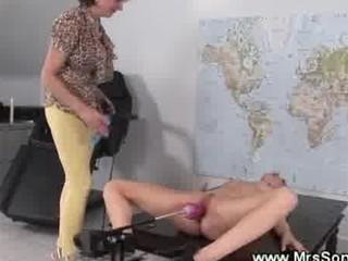 porn device bangs juicy cougar vagina