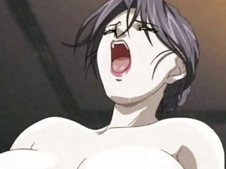anime lady likes a penis and a vibrator