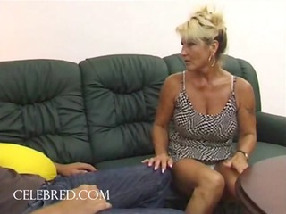 drilling his aunt with his big libido tough