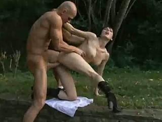 a mother into need of fuck screws a bald man al
