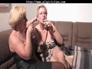 homosexual woman grandmas dike act dike angel on