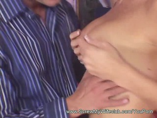 large penis pounds hot wife