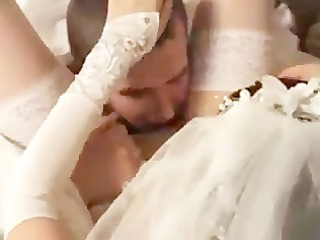bride drilled by her fresh husband