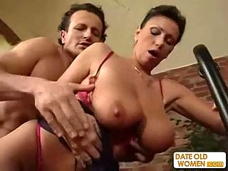 exotic sweet looking cougar obtains the dick into